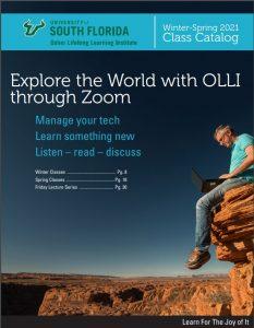 OLLI Course Catalog cover